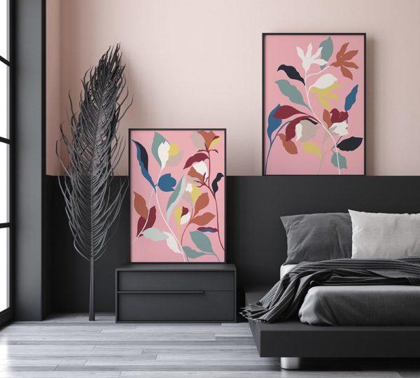 Floral silhouette - Atelier Palel