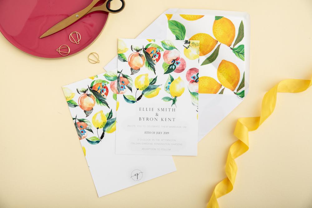 Lemons & Oranges - Atelier Papel