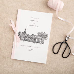 Order of Service - Atelier Papel