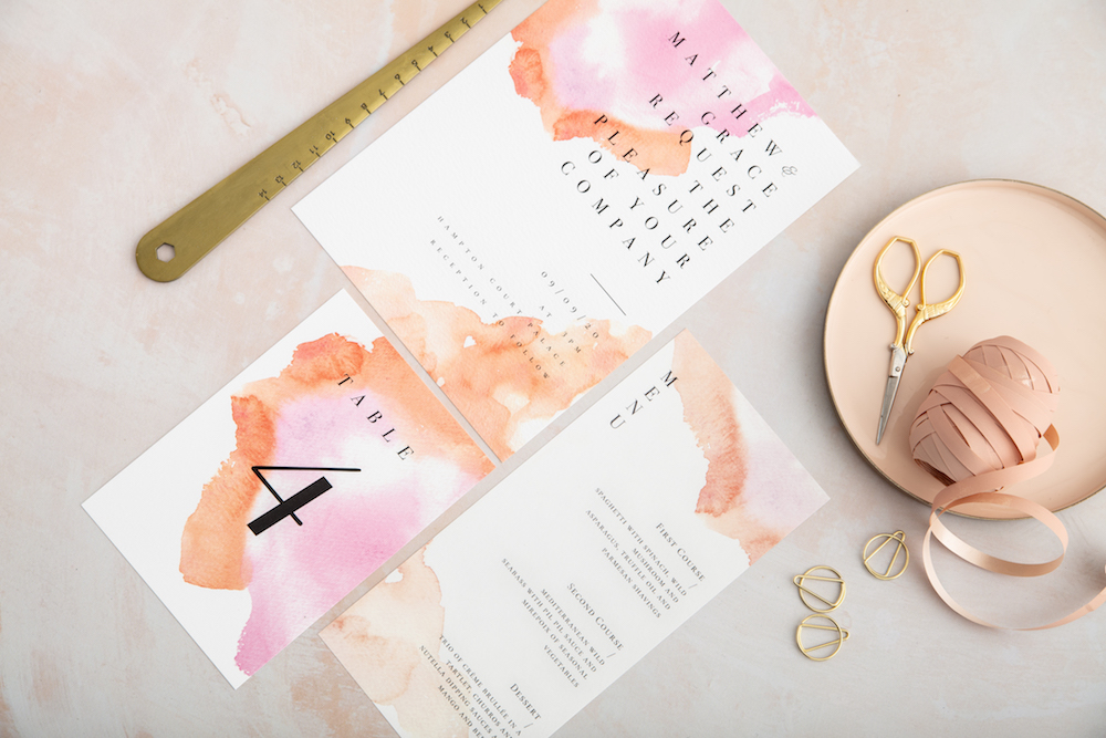 Pink Marble - Atelier Papel