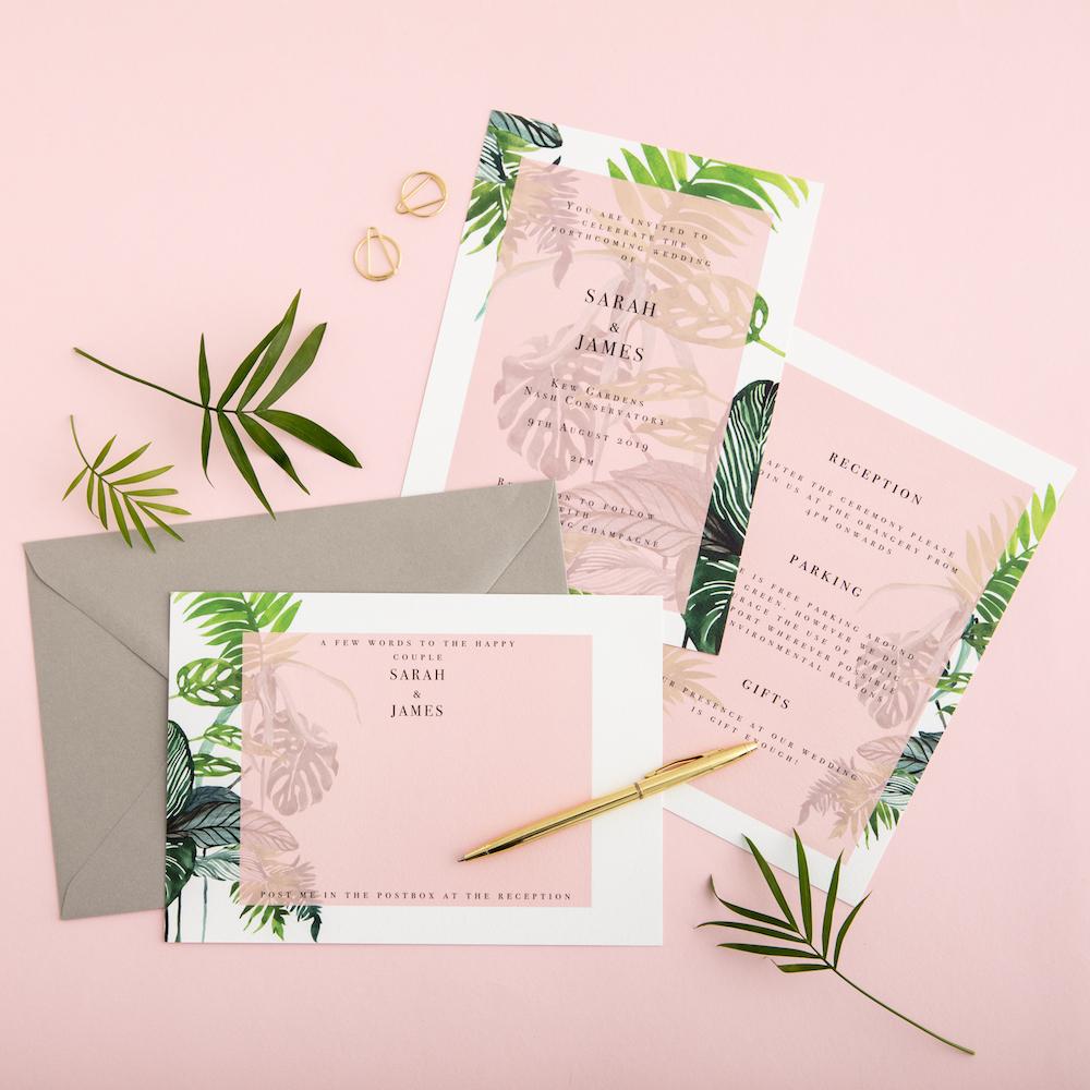 Pink paradise - Atelier Papel